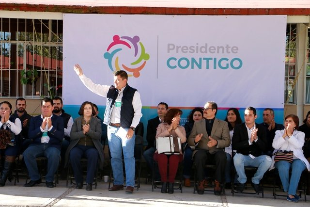 """¡Fortalecer el tejido social, objetivo del programa """"Presidente Contigo"""" para tener una sociedad calvillense más positiva y más sana: AVL!"""