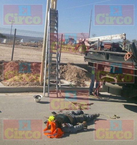 ¡Aguascalentense murió electrocutado y de una caída en Lagos de Moreno!