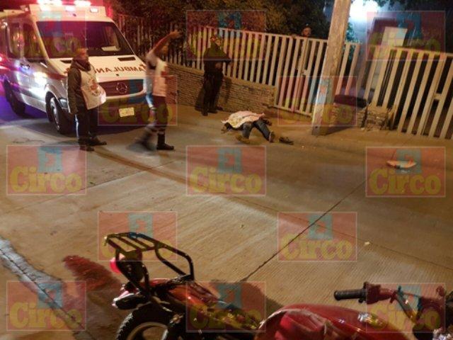 ¡Joven motociclista murió tras chocar contra un poste en San Juan de los Lagos!