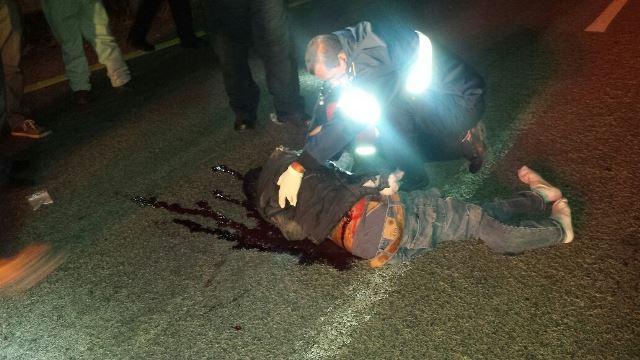 ¡Joven murió atropellado por un tráiler en Aguascalientes frente a su esposa e hija!