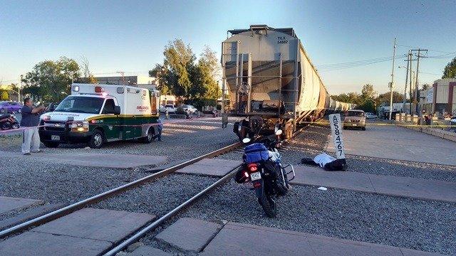 ¡Joven murió atropellado por el tren en Aguascalientes por ir escuchando música con audífonos puestos!