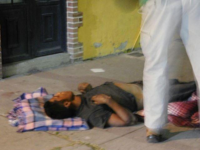 ¡Vicioso murió tras golpearse intencionalmente en la calle en Aguascalientes!