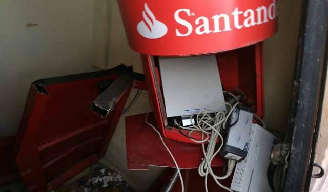 ¡Robaron cajero automático de la Presidencia Municipal de Vetagrande, Zacatecas!