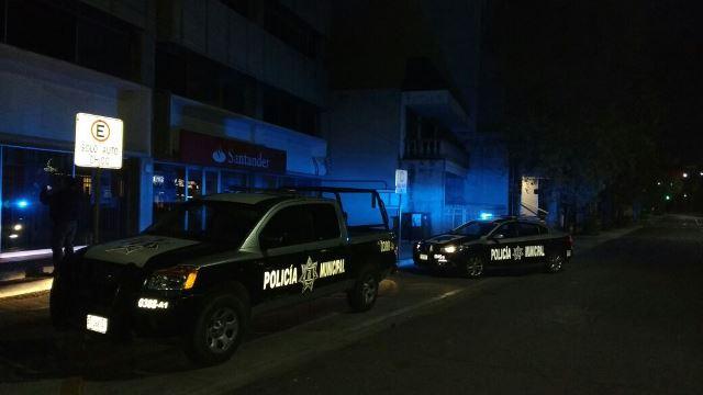 ¡Atracaron y vaciaron un cajero automático del banco Santander en Aguascalientes!