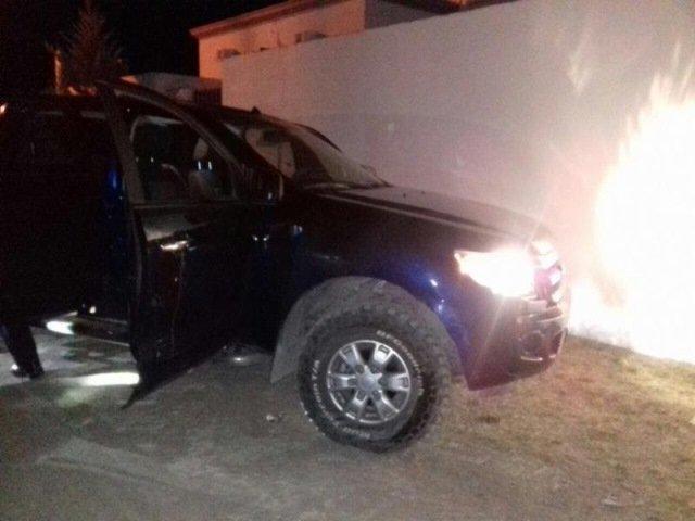 ¡Policías y militares detuvieron a 4 sujetos con un arsenal en Río Grande, Zacatecas!