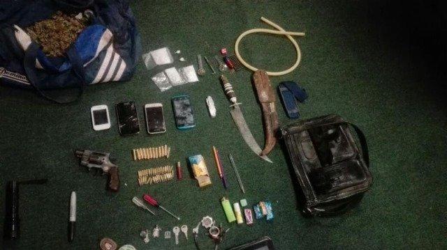 ¡Detuvieron a 3 sujetos con 2 kilos de marihuana y un arma de fuego en Guadalupe, Zacatecas!