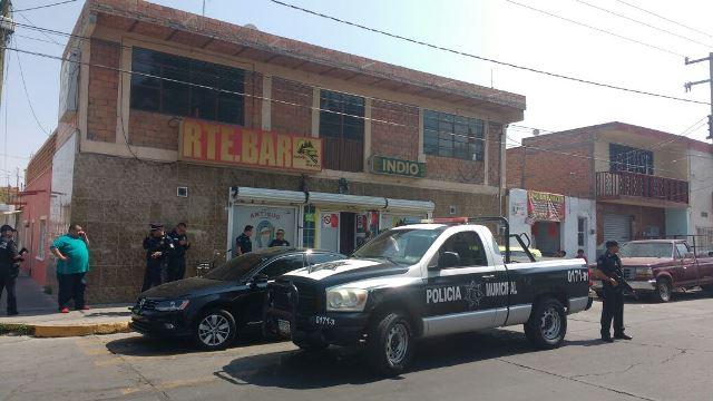 ¡Balazos en un bar en Aguascalientes: 2 detenidos!