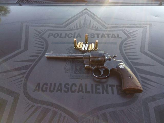 ¡Tras una persecución y balazos fueron detenidos 3 zacatecanos en Aguascalientes!