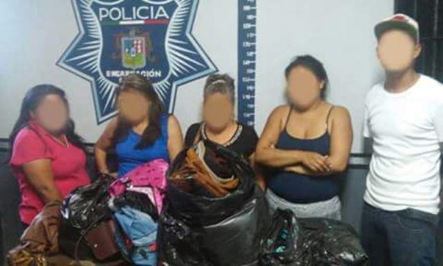 ¡Detuvieron a 5 aguascalentenses tras un robo en un negocio en Encarnación de Díaz!