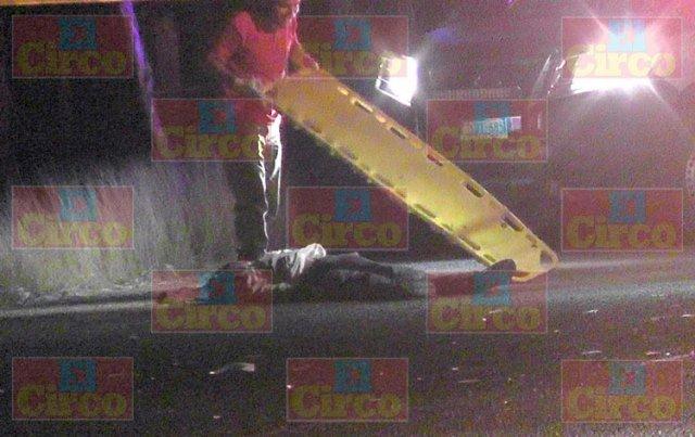 ¡Hombre murió atropellado por un tráiler en Fresnillo frente a sus hijos y su nieta!