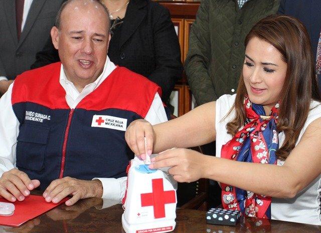 ¡Es el Municipio de Aguascalientes aliado de la Cruz Roja Mexicana!