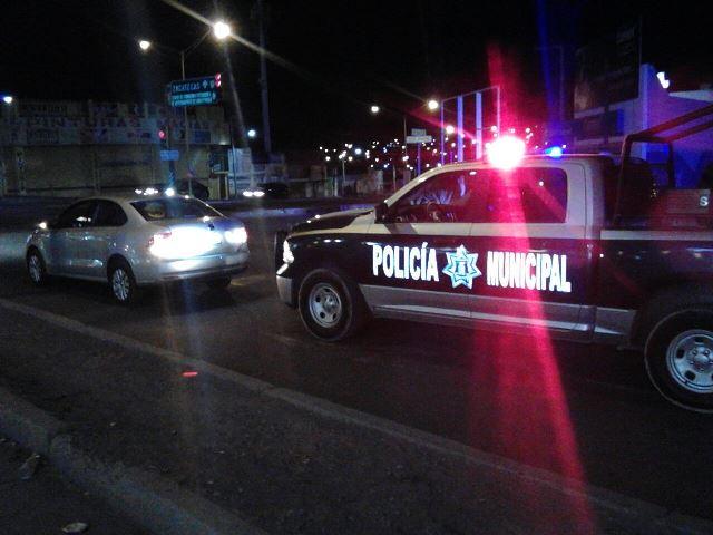 ¡Detuvieron a sujeto en un auto robado con violencia en Aguascalientes!