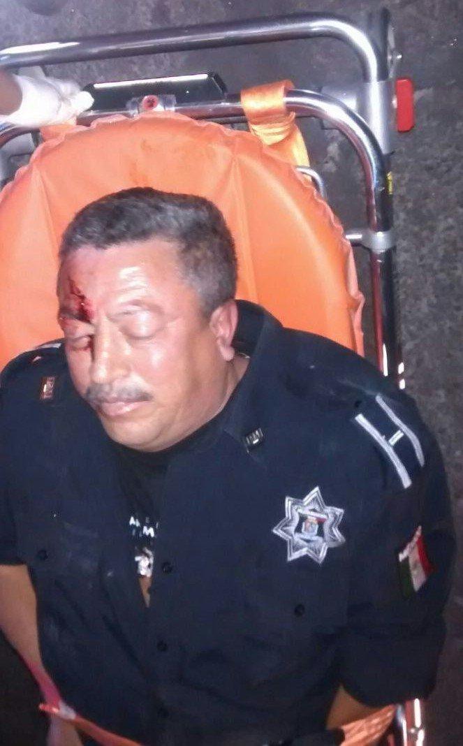 ¡Policía municipal fue asesinado por un automovilista que lo atropelló intencionalmente en Aguascalientes!