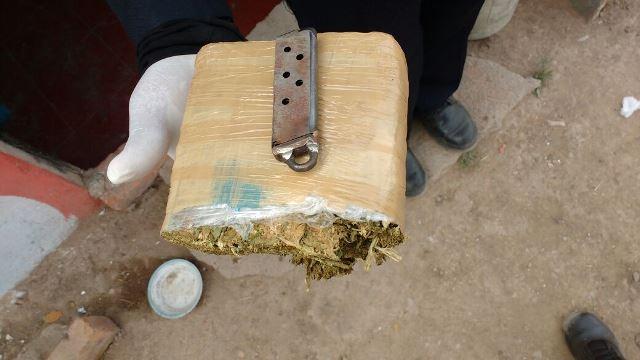 ¡Detuvieron a un narco-adolescente con más de medio kilo de marihuana en Aguascalientes!