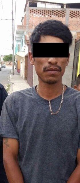 ¡Policías municipales y estatales detuvieron a un sujeto con psicotrópicos en Aguascalientes!
