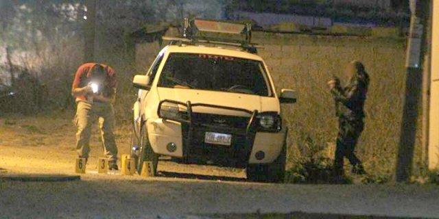 ¡Pareja fue ejecutada a bordo de una camioneta en Zacatecas!