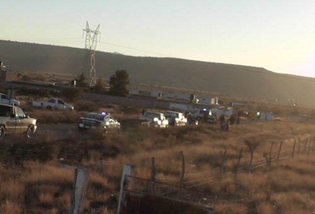 ¡En plena carretera hallaron el cuerpo de una persona en Guadalupe, Zacatecas!