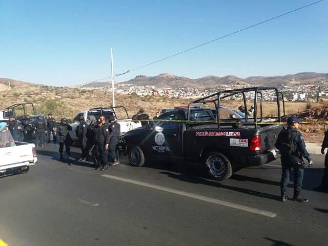 ¡A un lado de una carretera hallaron a un ejecutado en Guadalupe, Zacatecas!