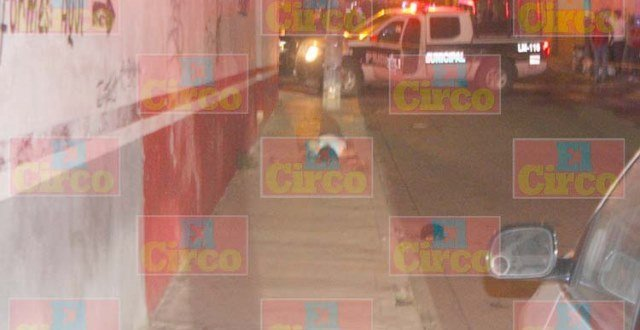 ¡Identificaron al ejecutado en la Zona Centro de Lagos de Moreno!