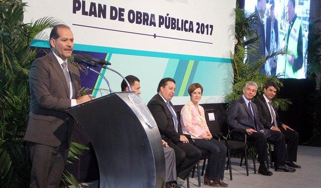 ¡Presenta Gobierno del Estado Plan de Obra Pública 2017 por más de 2 mil 400 millones de pesos!