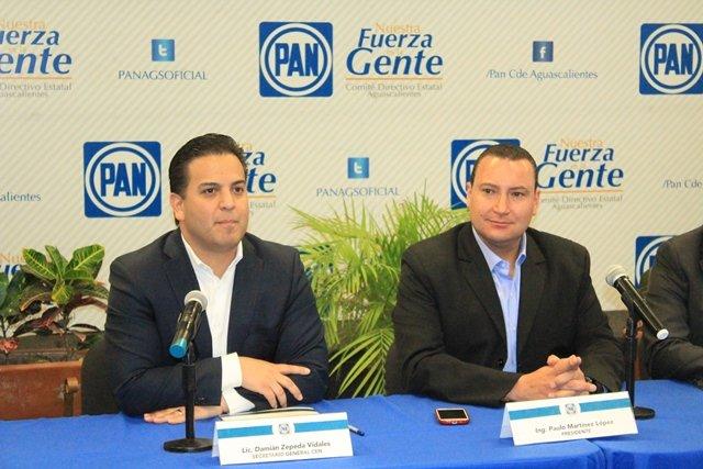 ¡Visita secretario general del Comité Ejecutivo Nacional del PAN, Damián Zepeda Vidales, el Comité Directivo Estatal!