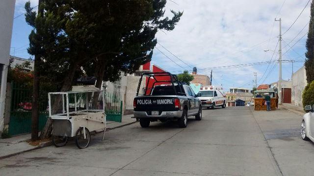 ¡Mujer víctima de desesperación y depresión amenazó con suicidarse en Aguascalientes!