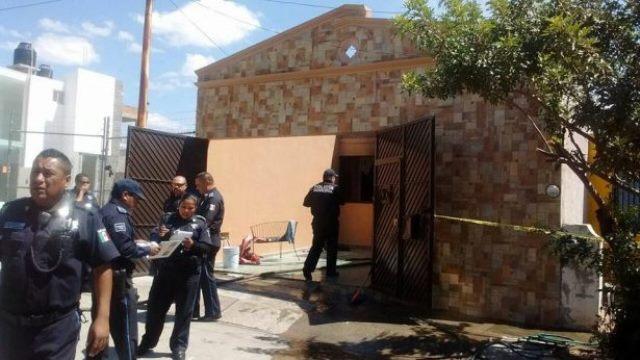 ¡Mujer que murió calcinada en un incendio domiciliario en Aguascalientes pudo haber sido asesinada!
