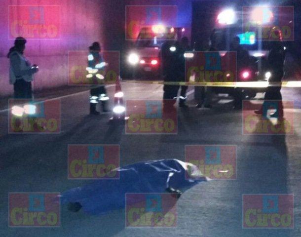 """¡Peatón murió atropellado por un vehículo """"fantasma"""" en Lagos de Moreno!"""