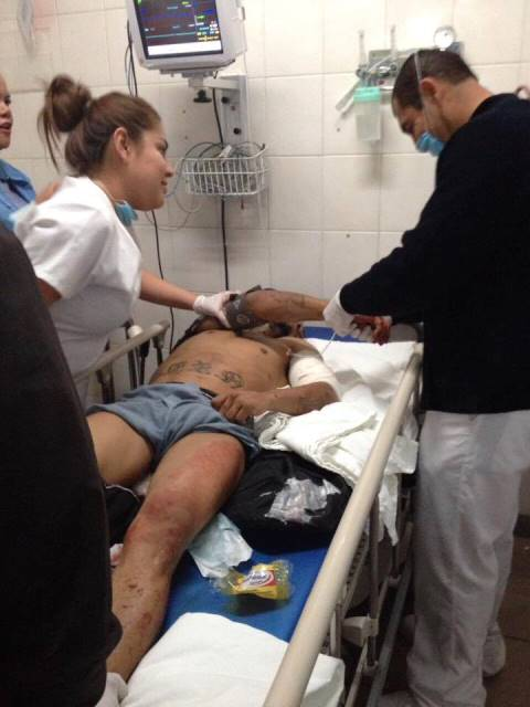 ¡Reincidente delincuente fue baleado en Aguascalientes!