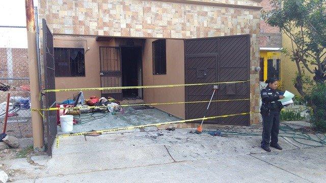 ¡Joven falleció intoxicada y calcinada tras incendiarse su casa en Aguascalientes!