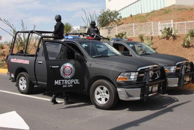 ¡Policía Metropolitana recuperó en Zacatecas un taxi robado en Trancoso!