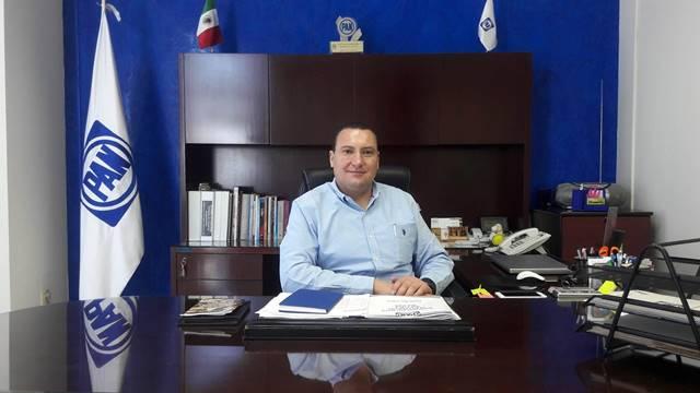 ¡Niega presidente del CDE del PAN, Paulo Martínez López, desbandada de militantes!