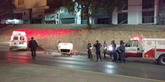 ¡1 muerto dejó la volcadura de un automóvil en Zacatecas!