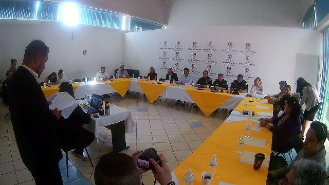 ¡A programa alternativo de seguridad 10 comunidades de Pabellón de Arteaga!