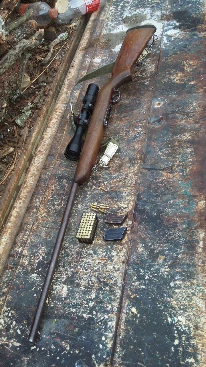 ¡Policías estatales detuvieron a un hombre en posesión de arma de fuego en Nochistlán!