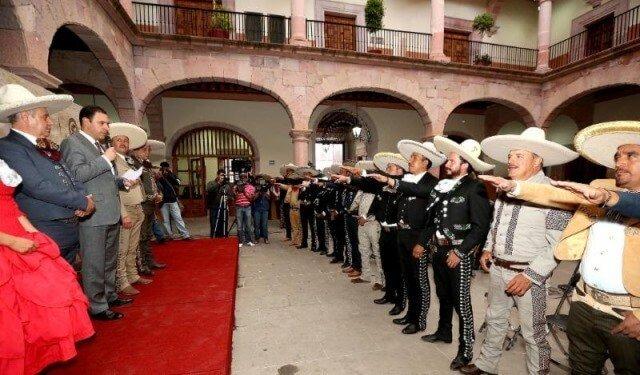 ¡Busca gobernador Alejandro Tello sede del Campeonato Nacional Charro en 2018 para Zacatecas!