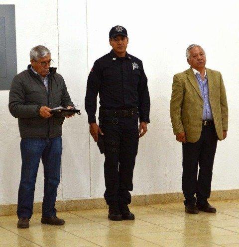 ¡El gobernador Alejandro Tello designa a Isaías Hernández Landeros como director de la Policía Estatal Preventiva!