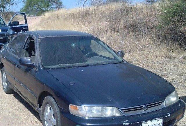 ¡Policía Estatal Preventiva aseguró vehículo con reporte de robo en Ciudad Cuauhtémoc!