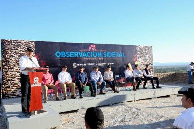 ¡Gobernador Alejandro Tello lanza producto turístico para convertir a Zacatecas en pionero del turismo sideral en el país!