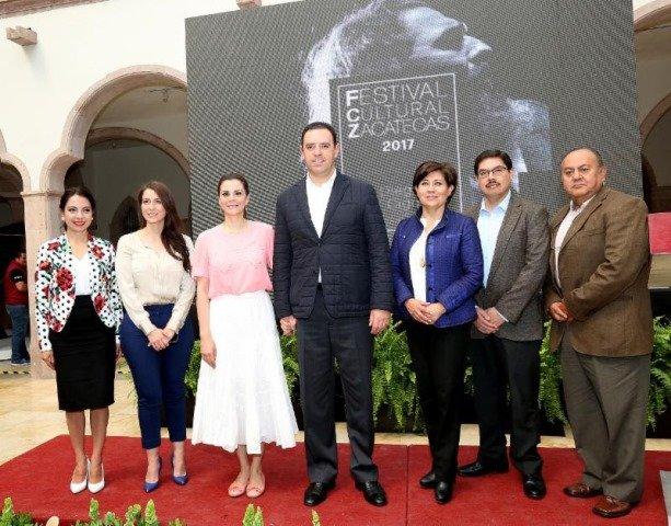 ¡Presentaron programa de actividades del Festival Cultural 2017 en Zacatecas!