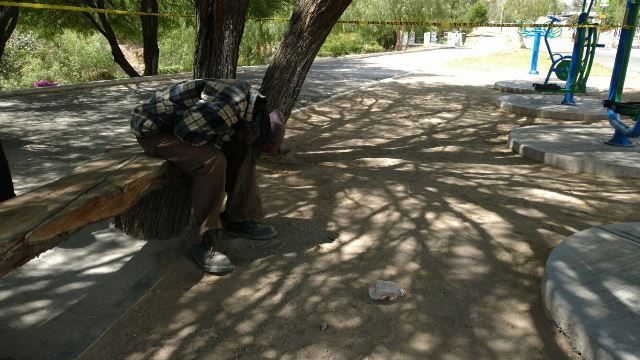¡2 alcohólicos crónicos murieron en la vía pública en Aguascalientes!
