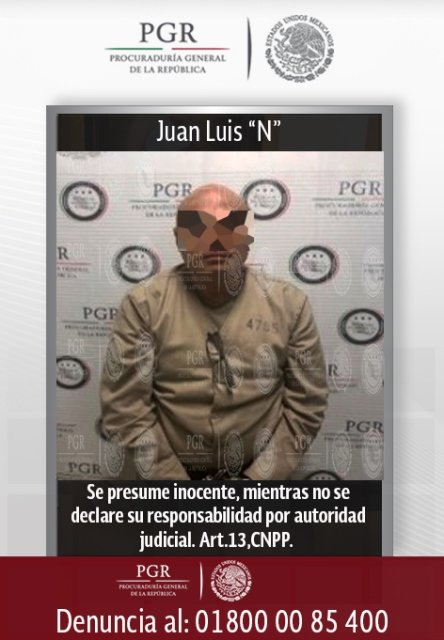 ¡Entrega PGR en extradición al Gobierno de los Estados Unidos de América a tres prófugos de la justicia de aquel país!
