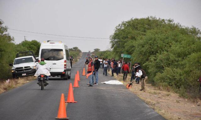 ¡2 muertas y 3 lesionados tras accidente en Villa González Ortega, Zacatecas!