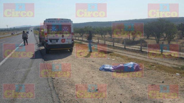 ¡Adulto mayor murió atropellado por una camioneta en Lagos de Moreno!