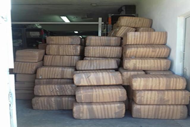 ¡En Aguascalientes vinculan a proceso a trailero que transportaba 1.5 toneladas de marihuana!