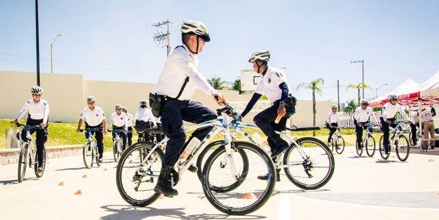¡Inicia en la Secretaría de Seguridad Pública Municipal el Primer Curso Nacional para Ciclopolicías!