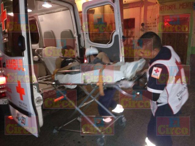 ¡Balacera en Lagos de Moreno dejó un hombre y una mujer lesionados!