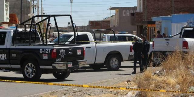 ¡Ejecutaron a un hombre en la cochera de su casa en Guadalupe, Zacatecas!