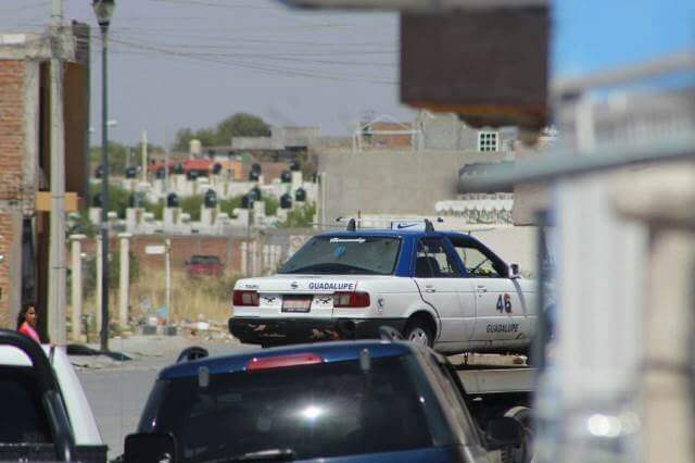 ¡Ejecutaron a otro taxista en Guadalupe, Zacatecas!