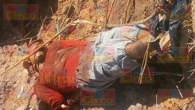 ¡Ejecutaron a un hombre en unas parcelas en Sombrerete, Zacatecas!